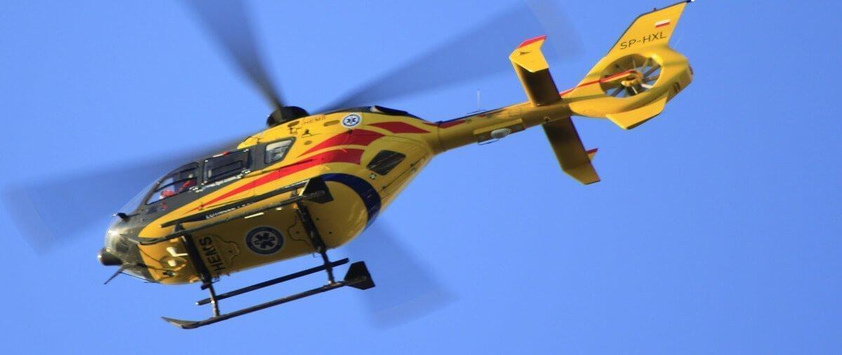 Transport helikopterem przy ubezpieczeniu narciarskim