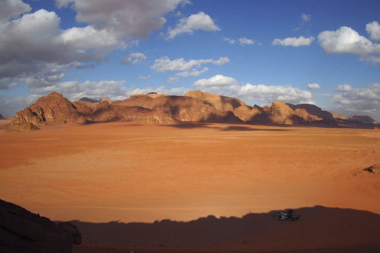 Samochodem po Jordanii