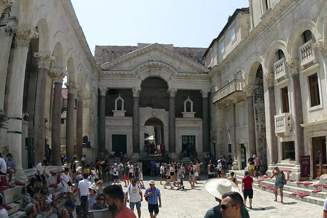 Split - Pałac Dioklecjana i Akwedukt
