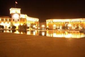 Yerevan w nocy